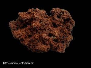 Scorie basaltique de la Chaine des Puys