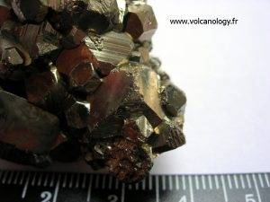Pyrite en dodécaèdres (Mexique)