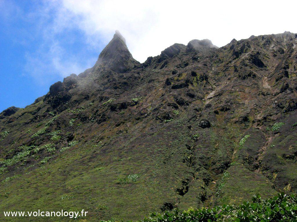La Soufrière de Guadeloupe (Antilles françaises) - Le Piton Tarade