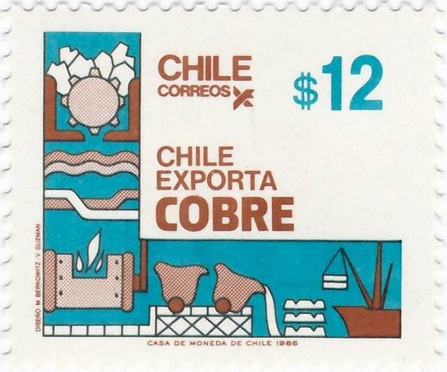 Extraction et exportation du cuivre - 1986