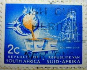 Exploitation et fusion de l'or en Afrique du Sud