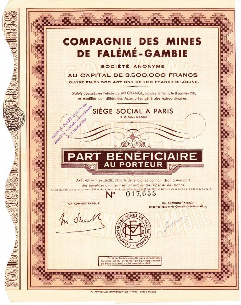 Compagnie des Mines de Falémé-Gambie