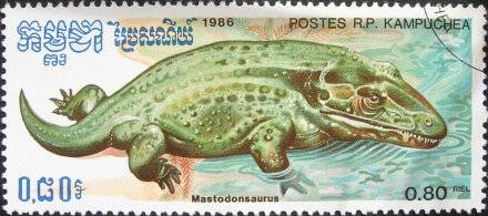 Les dinosaures : Mastodonsaurus - 1986