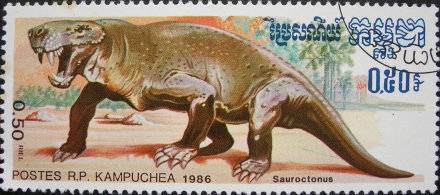 Les dinosaures : Sauroctonus - 1986