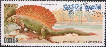 Les dinosaures : Edaphosaurus - 1986