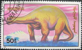 Les dinosaures : Espèce non identifiée - 1990