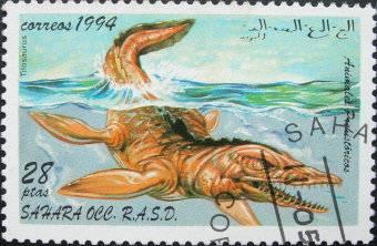 Les dinosaures (animaux préhistoriques) : Tilosaurus - 1994