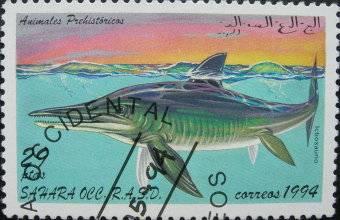 Les dinosaures (animaux préhistoriques) : Ictiosaure - 1994