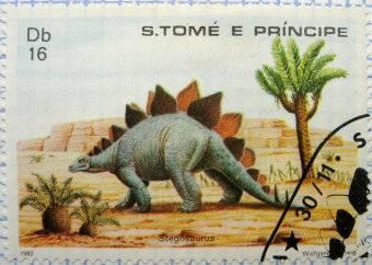 Les dinosaures (animaux préhistoriques) : Stegosaurus - 1982