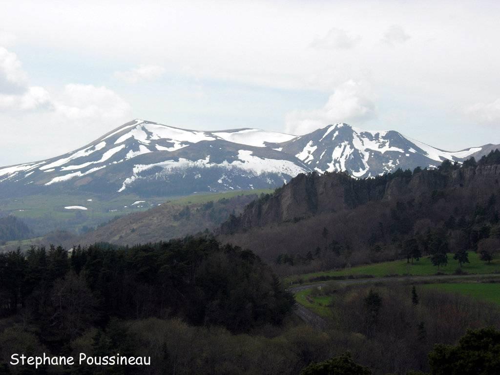 Le massif du Sancy (Massif Central Français)